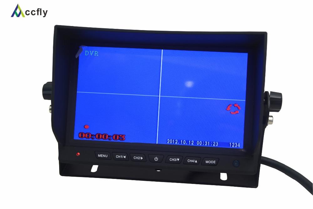 Arxa görüntü kamerası üçün 7 düymlük Rəngli TFT LCD - Avtomobil elektronikası - Fotoqrafiya 3