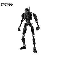(YNYNOO) K-2SO StarWars одной продажи Rogue One: StarWars история модели и строительные блоки игрушки для детей