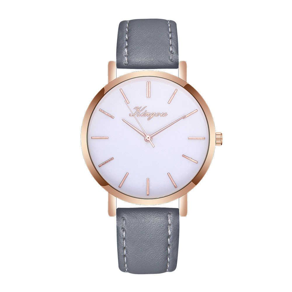 Haute qualité femmes montres de mode de luxe marque dames couleur or cadran montre horloge décontractée femme robe cadeau Relogio Masculino