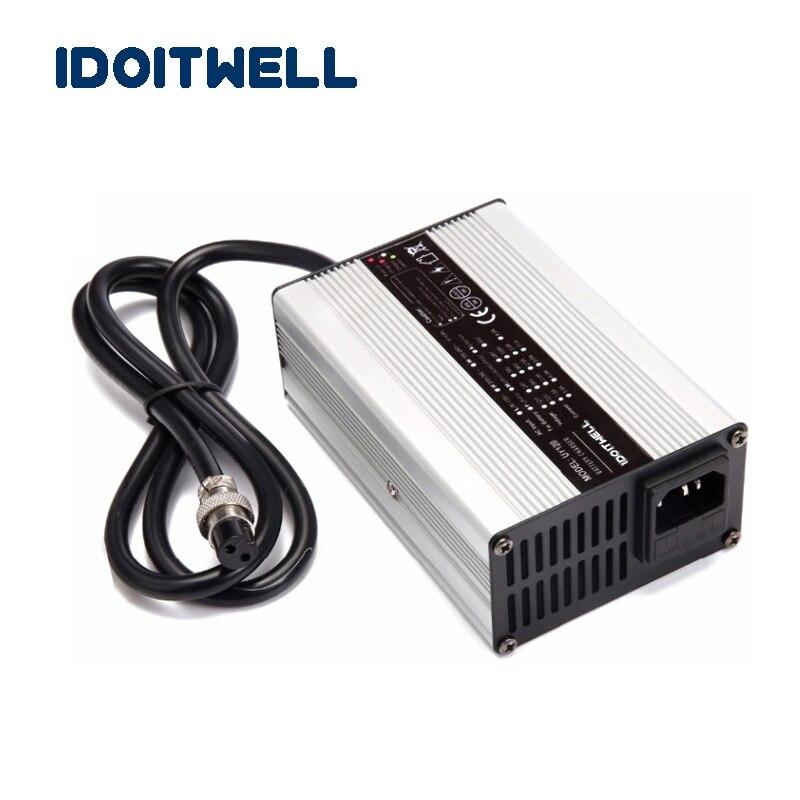 Angepasst 180W serie 12V 10A 24V 5A 36V 4A 48V 3A 60V 2.5A 72V 2A batterie ladegerät für Blei säure oder Lithium oder LifePO4 batterie-in Ladegeräte aus Verbraucherelektronik bei  Gruppe 1
