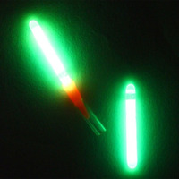 125 Pcs 4.5*37mm Fluorescente Lightstick Luz Bóia De Pesca Vara Luzes Da Noite Flutuador Vara do Fulgor Escuro Útil Lotes para a Pesca/Festa