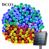 Dcoo LED Solar Light 72ft 22meter 200 LED 8 Modes Tuinverlichting Garden Light Led Solar Lamp