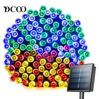 Dcoo LED Solar Light 72ft 22meter 200 LED 8 Modes Tuinverlichting Garden Light Led Solar Lamp
