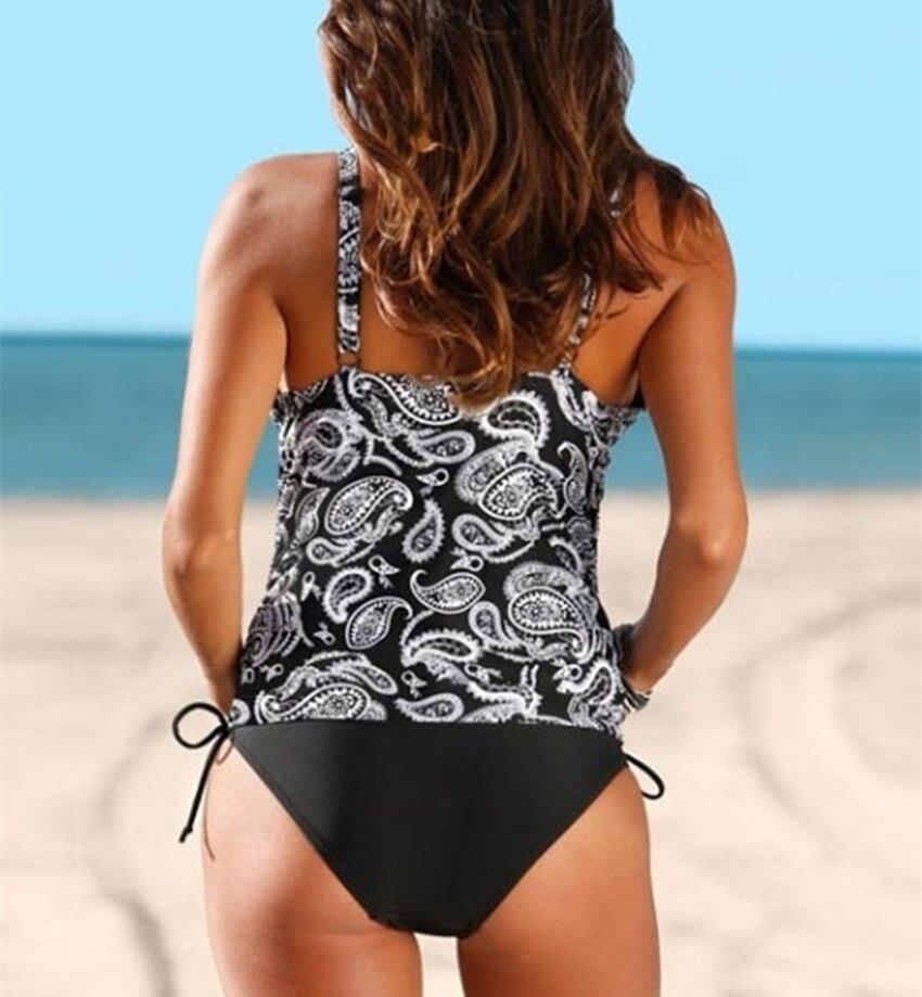 Для беременных Танкини комплект купальники плюс Размеры Купальник для беременных Для женщин купальники 2017 большой спортивный костюм больш... ...