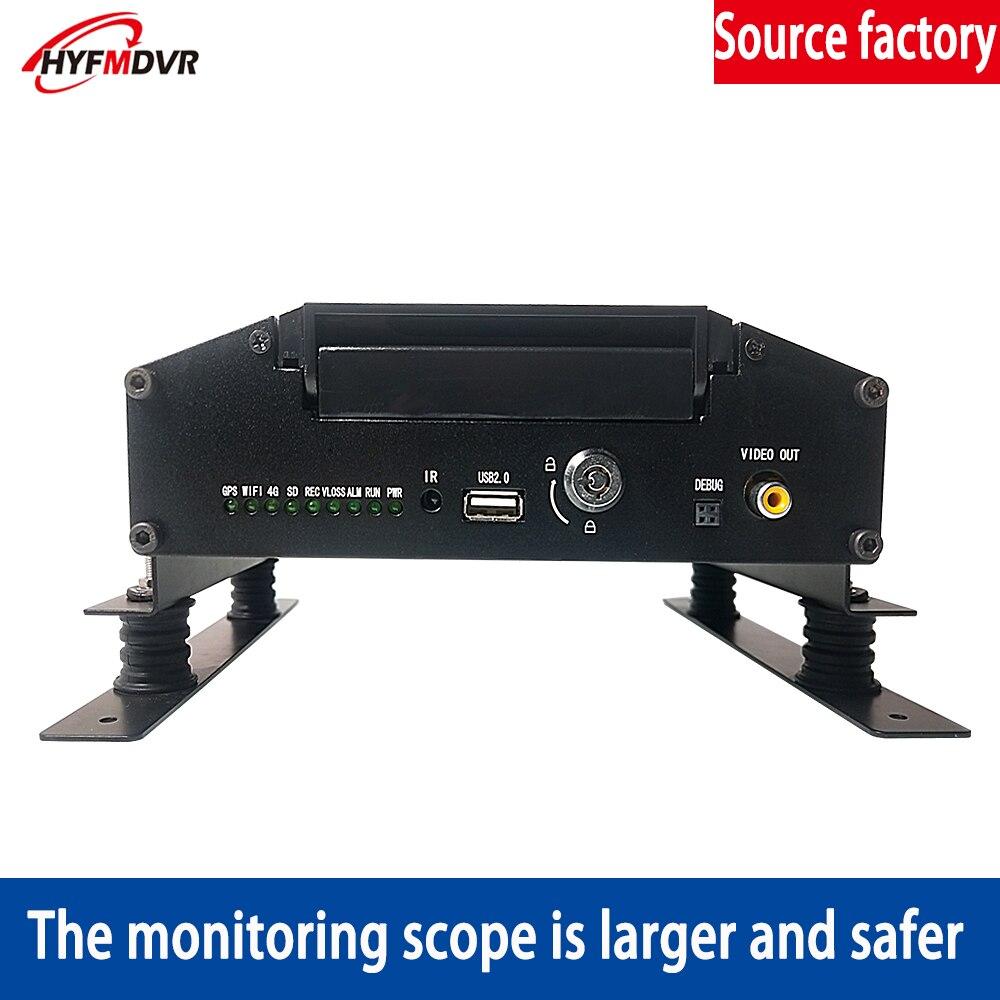 Usine en gros 8 canaux camion conduite à distance enregistrement surveillance Mobile DVR 4G GPS réseau surveillance en ligne PAL/NTSC système - 2
