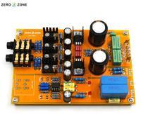 GZLOZONE Upgraded Assembled Headphone Amplifier Board Preamp Base On Lehmann Amp