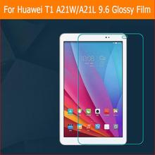 Greatest premium HD Clear Shiny display protector movie For Huawei T1 word A21W A21L 9.6″ pill entrance display protecting movies