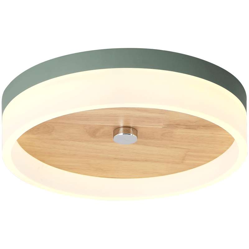 Nordic macaron ceiling lights modern simple foyer rubber wood colorful Kids room lighting fixture bedroom round LED ceiling lamp macarons modern simple led dining room pendant lights macaron colorful creative foyer droplight kids room lighting fixture