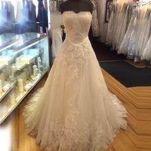 Кружевные свадебные платья хорошего качества трапециевидная