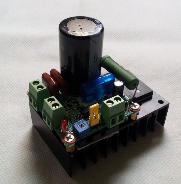 12V 24V 48V 110V Dc motor Controller/PWM speed regulation /MACH3 spindle speed/Control xj 48v fan temperature control speed regulator chassis fan speed regulation module pwm