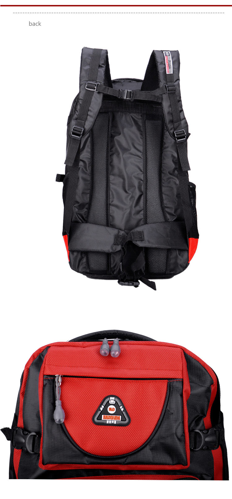 17 Senkey style 60L Large-capacity Travel Backpack Men Women Fashion Backpack To Casual Waterproof Laptop Student school Bag 6