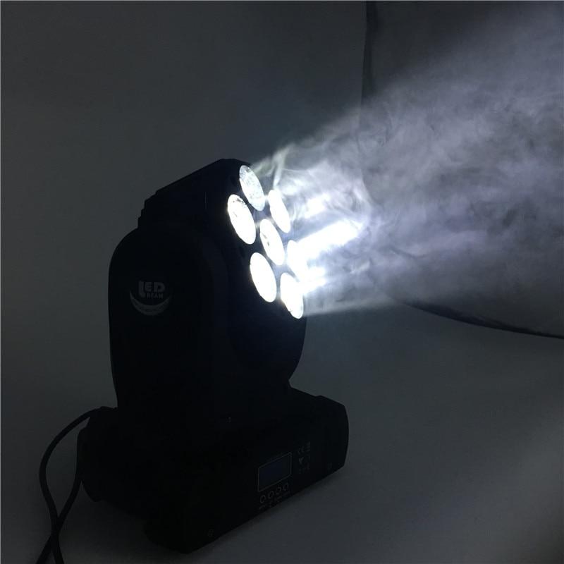 4 шт./лот светодиодный 12x12 Вт RGBW 4in1 перемещение головы луч света dmx световой эффект высокой Мощность лампы для мобильный артистов клуба баров