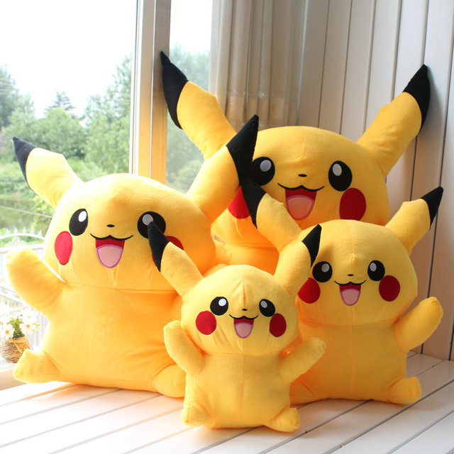 40cm Plush stuffed toy pokemon pikachu doll toys birthday freeshipping