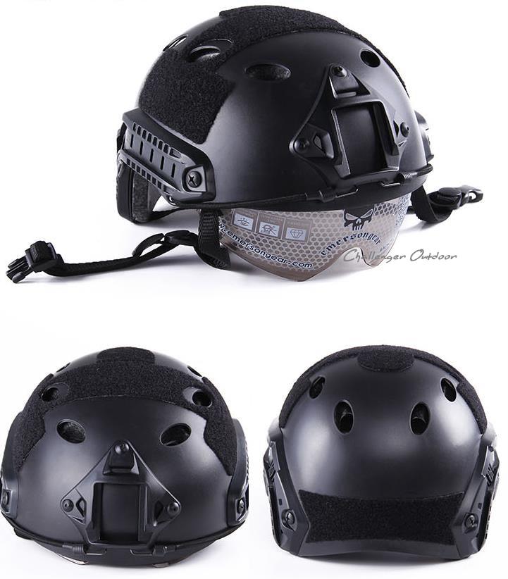 FAST style Helmet Protective Goggle Helmet Pararescue Jump Type helmet Military Tactical airsoft helmet fast helmet protective goggle helmet pararescue jump type helmet military tactical airsoft helmet