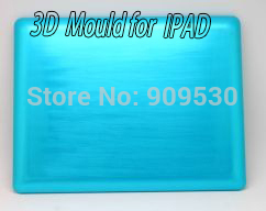 3D sublimation case Mould for IPAD 3D heat transfer mould  цены