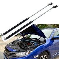 Auto Accessoires Auto Front Motor Hood Cover Open Lift Hydraulische Ondersteuning Staaf Prop Stick Voor Honda Civic 2016 2017 2018-in Mottenballen & Repen van Auto´s & Motoren op