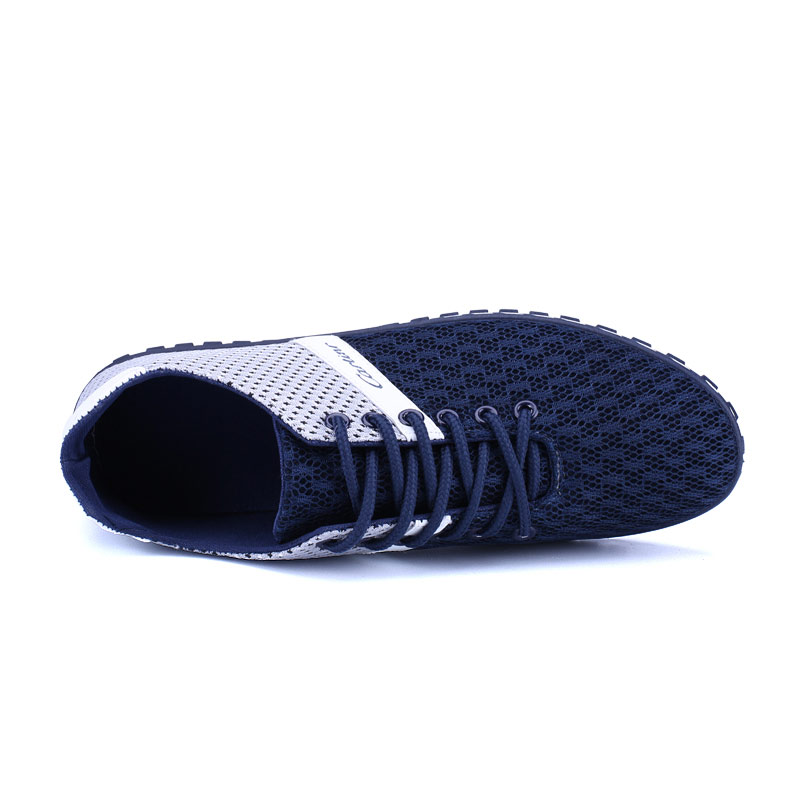 Summer Breathable Mesh Shoes Mens Casual Shoes 2018 New Lace-up - Men's Shoes - Photo 4