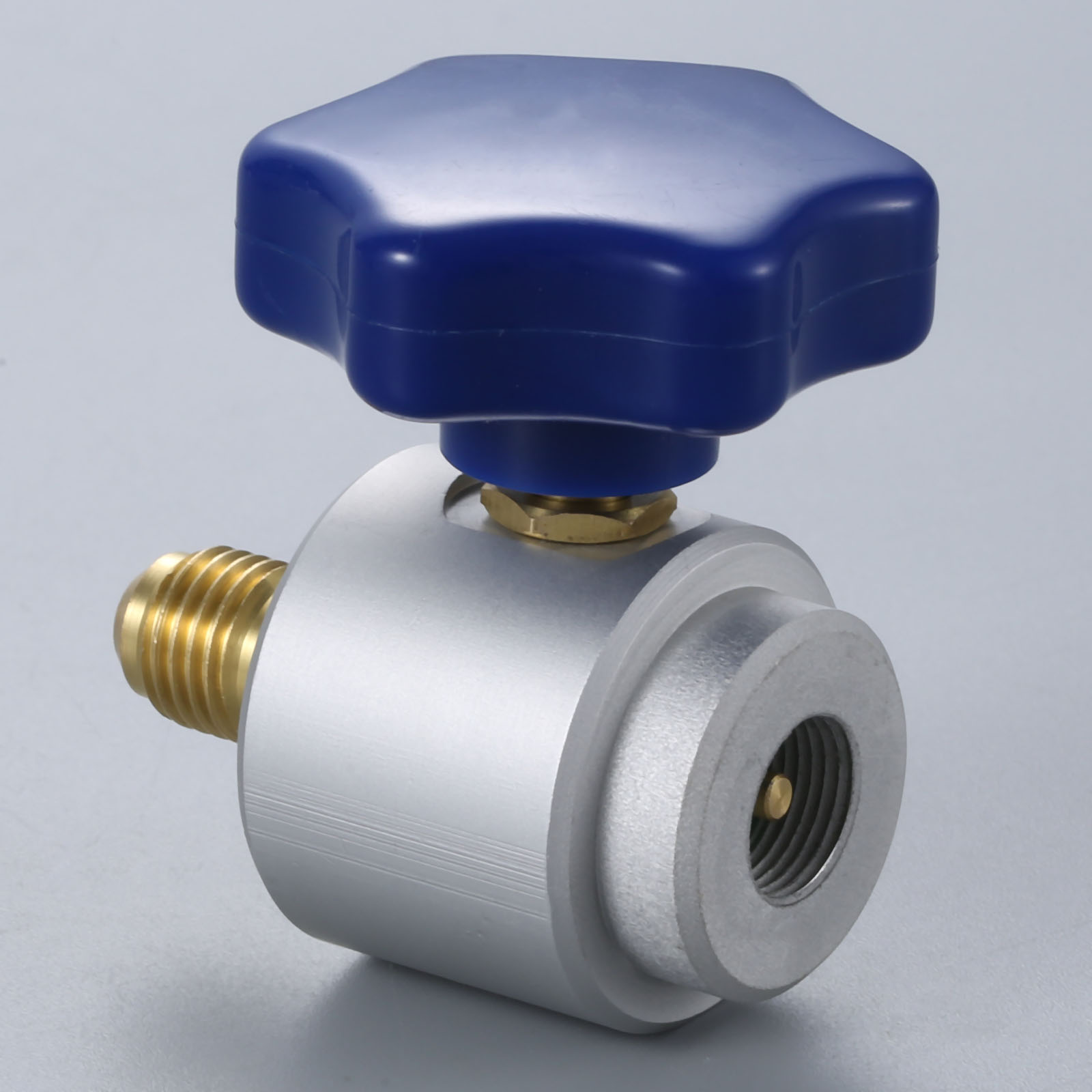 """Image 5 - R134a Self sealing Can Tap Valve 7/16""""   28 UNF Female x 1/4"""" SAE Male C/W Hand Wheel-in Air-conditioning Installation from Automobiles & Motorcycles"""