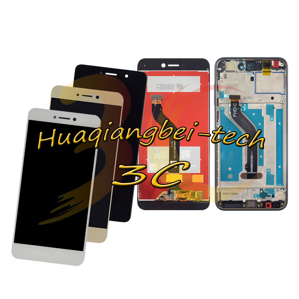 5.2 New For Huawei P8 Lite 2017 PRA-LA1 PRA-LX1 PRA-LX3 Full LCD DIsplay + Touch Screen Digitizer Assembly + Frame Cover