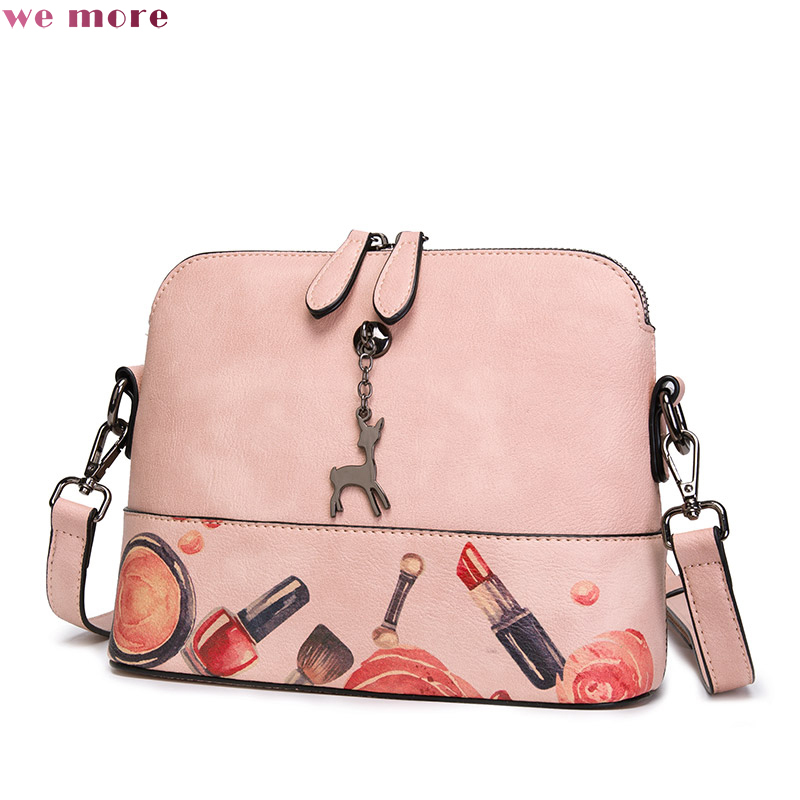 купить We More Brand Spring New Fashion Women Crossbody Bags Female Shoulder Bag Metal Ring Handbag Ladies Small Messenger Bags по цене 3510.03 рублей