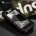 High Quality Water/Dirt/Shock Proof Fitted Case For iPhone 5/5s SE,1:1 Metal Aluminum Armor Hard Case Cover