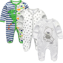 Newborn Baby winter clothes 2/3pcs baby boys girls rompers l