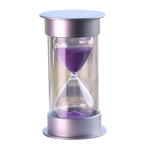 new plastic crystal hourglass 10 30 minutes sand clock decoration