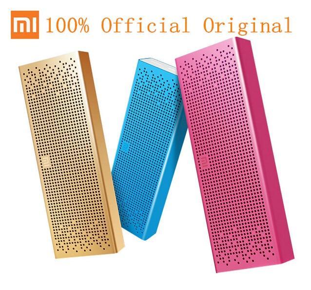 Prix pour D'origine Xiaomi Portable Sans Fil Bluetooth Haut-Parleur avec Micro Soutien TF carte Aux-In