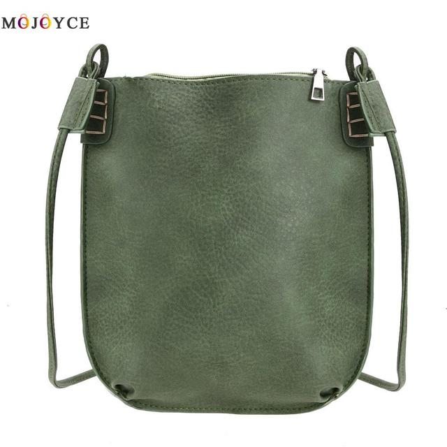 2017 Vintage Women Messenger Bag Ladies Small Bucket Women's Handbags Leather Crossbody Bags for Women Shoulder Bag Bolso