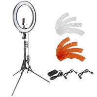 Neewer 18 Inch Outer Dimmable SMD LED Ring Light Lighting Kit For Smartphone Camera Portrait Make