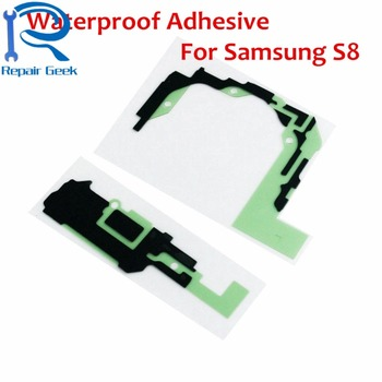 50pcs/Lot New Replacement For Samsung Galaxy S8 G950 Waterproof Adhesive Tape Glue Sticker For Samsung S8 Repair Parts