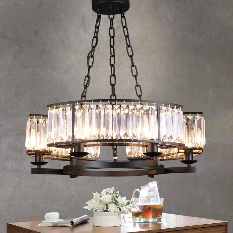 Room chandelier light bedroom dining room living room lighting fashion crystal lamp modern - Crystal chandelier for dining room ...