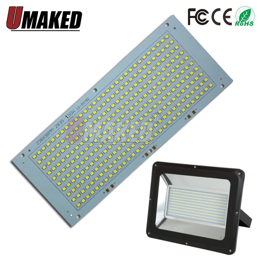 100% Full Power LED Flooding PCB 20W 30W 50W 100W 150W SMD2835 Led PCB Board, Led Lighting Source For Led Floodlight