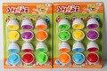 Emparejamientos Inteligente Huevo Estudio Cápsula Niños del Color Bloques 6x Juguetes Educativos Bebé Inteligente Bloques de Juguete Regalos