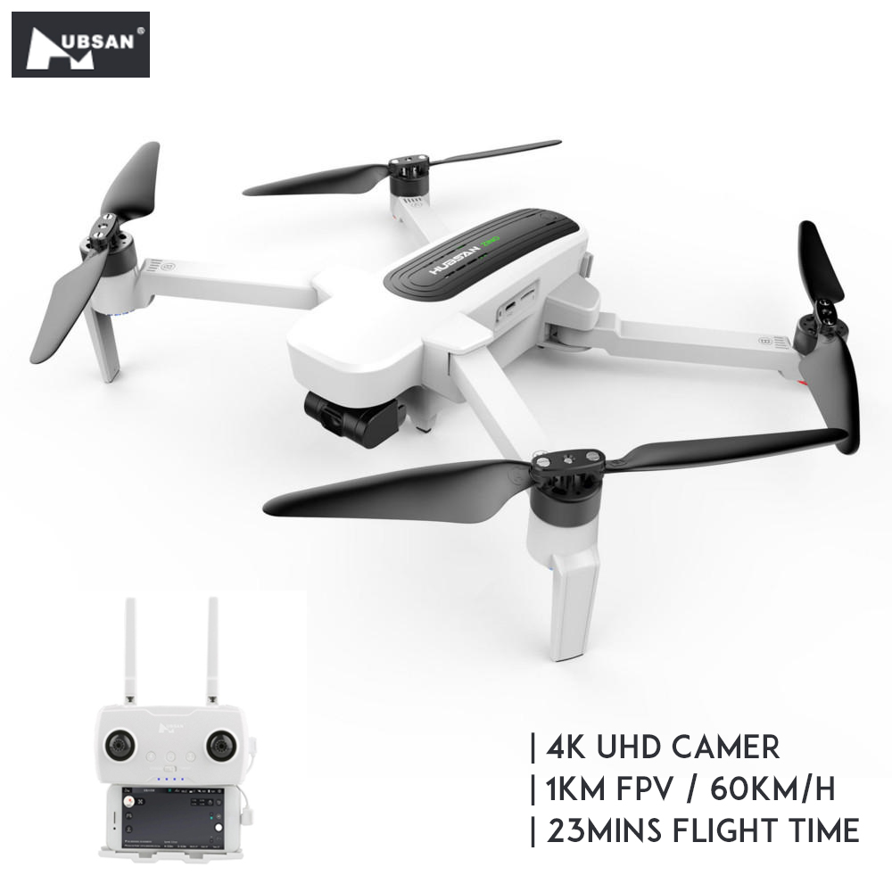 [Ready Stock] Original Hubsan H117S Zino GPS 5.8G 1KM FPV With 4K UHD Camera 3-Axis Gimbal RC Drone Quadcopter RTF