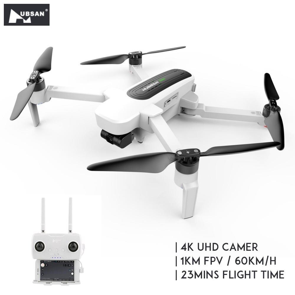 [Pronto Stock] Originale Hubsan H117S Zino GPS 5.8G 1KM FPV con 4K UHD Macchina Fotografica 3 assi del Giunto Cardanico RC Drone Quadcopter RTF