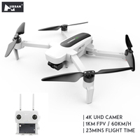 Ban đầu Hubsan H117S Zino GPS 5.8G 1KM FPV với 4K UHD Camera 3 Trục Gimbal RC drone Quadcopter RTF