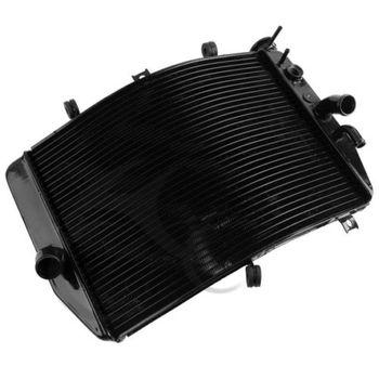 Aluminum Black Oil Radiator Cooler for Suzuki GSXR600 GSX-R600 2004-2005