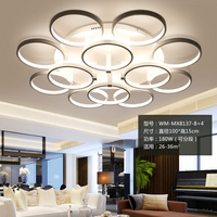 Modern Led Ceiling Lights Acrylic Lamparas De Techo Fixtures Fittings Luminaire Deckenleuchten Foyer Bed Room Livingroom