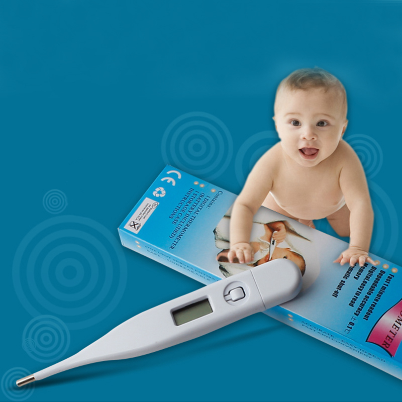 Electric Thermometer Body Thermometer Kids Care Safe and Practical Electric Thermometer