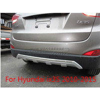 High quality ABS Chrome front fender front bezel,(Including 3PIC) For 2010 2015 Hyundai ix35 Car styling Car covers
