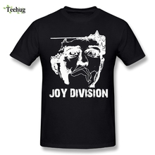 Round Collar Boy Joy Division T Shirts Custom Cotton Hip Hop Tees