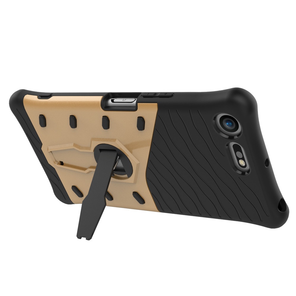mobile cell phone Sniper Hybrid Robot Armor ShockProof 360 Kickstand Back Soft Case Cover For sony xz premium in Fitted Cases from Cellphones Telecommunications