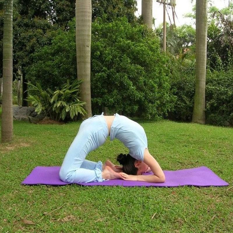 Durable Exercise Fitness 6mm Thick Durable Exercise Fitness Non-Slip Yoga Mat Lose Weight Meditation Pad HTB1lh 5QpXXXXa5XXXXq6xXFXXX8