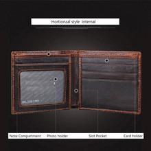 100% Genuine Leather Wallet For Men (Choose Your Style)