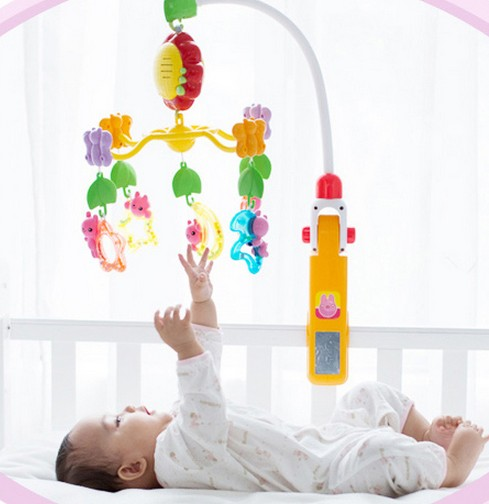 newborn baby bed rotary music bell toy baby stroller toy rattles accessories pendant newborn baby bed rotary music bell toy baby stroller toy rattles accessories pendant