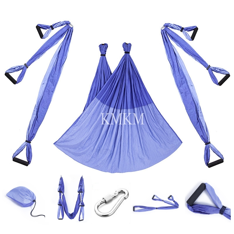 Strong Yoga Swing Hammock Aerial Trapeze Inversion Anti gravity Straps High Strength Fabric Decompression