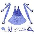 Fuerte Yoga Swing hamaca aérea trapecio inversión Anti-gravedad correas alta resistencia tela descompresión