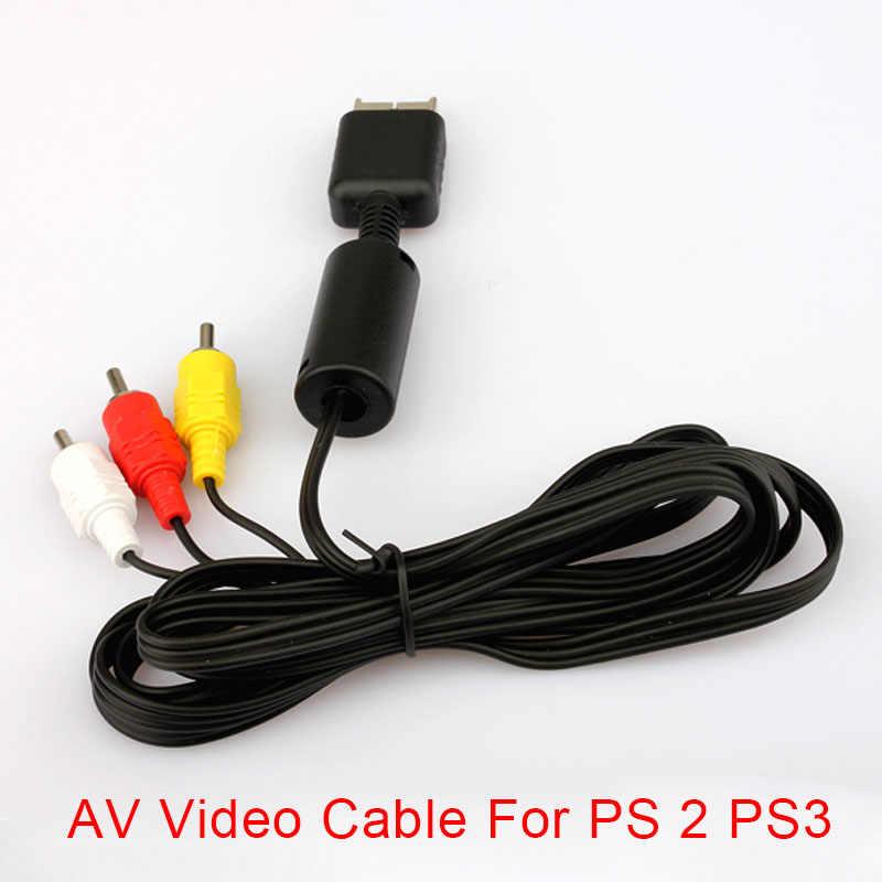 AV الصوت الفيديو وصلة كابل لسوني بلاي ستيشن PS2 PS3 وحدة نظام XJ66