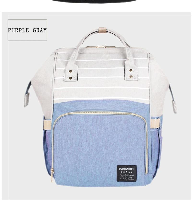 HTB1lh RdwKG3KVjSZFLq6yMvXXa0 Large Capacity Mommy Maternity Bag Diaper Nappy Bag Bolsa Maternida Printed Bebe Bag Travel Backpack Desiger Nursing Baby Care